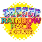 Rainbow Pack of 6 Colors